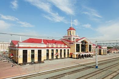 Реконструкция вокзального комплекса на станции Новокузнецк