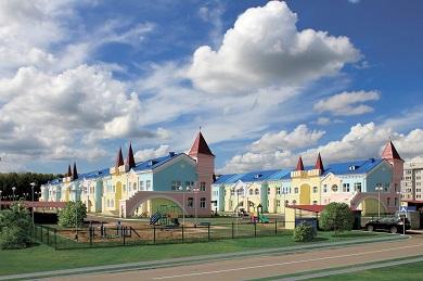 Строительство детских яслей-сада на 290 мест с бассейном на станции Саянская Красноярской железной дороги