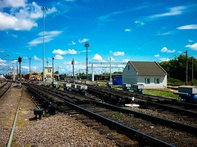 Техническое перевооружение станции Валуйки Юго-Восточной железной дороги