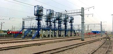 Комплексное развитие участка Междуреченск – Тайшет Красноярской железной дороги. Четный парк на станции Абакан