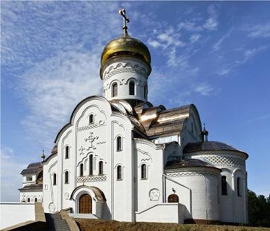 Строительство православного храма в городе Лесосибирске, ул. Промышленная