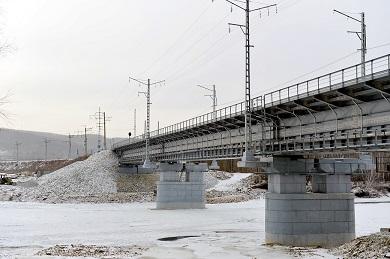 Реконструкция моста 1 пути через реку Тында на 2346км ПК10 участка Хани – Тында Дальневосточной железной дороги