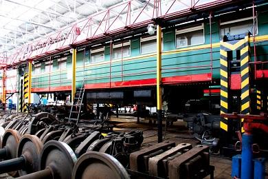 Строительство цеха предварительной подготовки вагонов к ремонту МВПС в локомотивном депо станции Отрожка Юго-Восточной железной дороги
