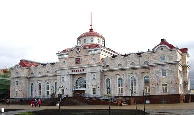 Реконструкция вокзала станции Ижевск Горьковской железной дороги