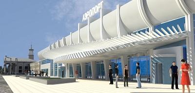 Капитальный ремонт здания аэровокзала в г. Чите