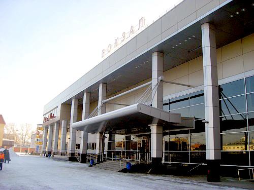 Реконструкция железнодорожного вокзала в г. Тюмени
