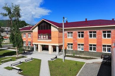Строительство здания Центра профподготовки школы-интернат №23 в городе Слюдянке