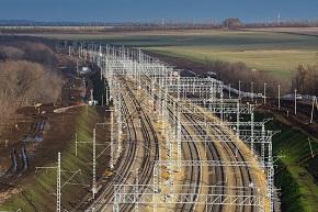 Строительство новой железнодорожной линии на направлении Журавка – Миллерово (обход Украины)