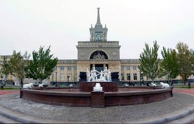 Реконструкция вокзального комплекса Волгоград-1