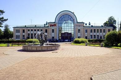 Реконструкция вокзала Зеленогорск Октябрьской железной дороги