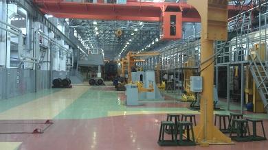 Реконструкция электродепо «Самаратранспригород» Куйбышевской железной дороги