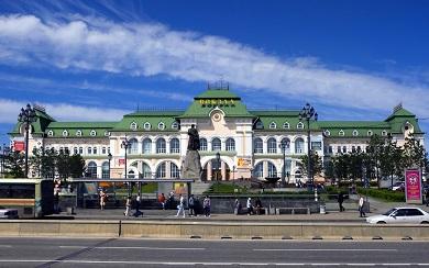 Реконструкция здания вокзала станции Хабаровск-1
