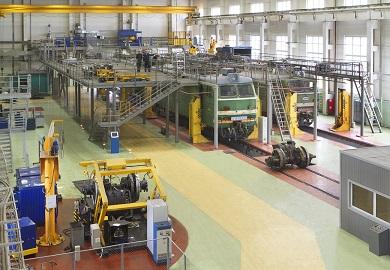 Техническое перевооружение цеха ТР-3 ремонтного локомотивного депо станции Кинель Куйбышевской железной дороги