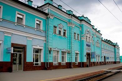 Капитальный ремонт вокзала станции Грязи-Воронежские Юго-Восточной железной дороги
