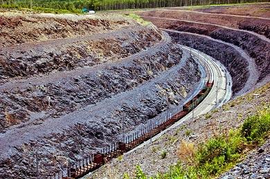 Сооружение выемки на перегоне Седловая - Бурятская Забайкальской железной дороги