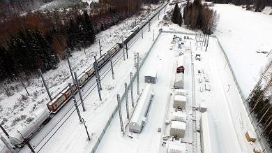 Строительство тяговой подстанции на о.п. Субботники Свердловской железной дороги