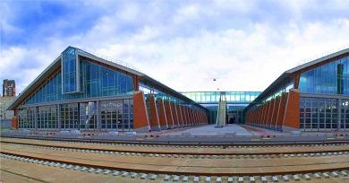 Строительство инженерных сетей музея Октябрьской железной дороги на станции Санкт-Петербург- Балтийский