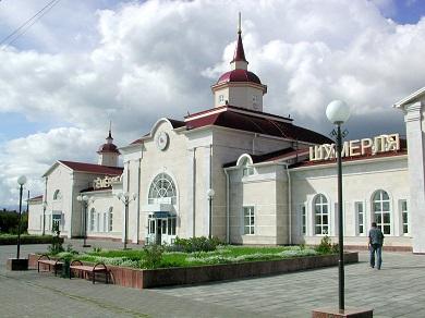 Реконструкция вокзала станции Шумерля Горьковской железной дороги