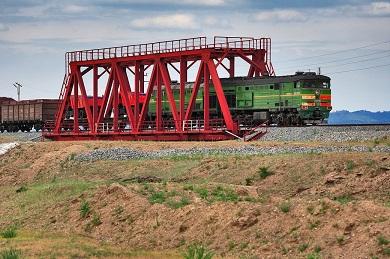 Реконструкция моста на 5852 км Улан-Удэ - Наушки