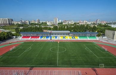 Реконструкция стадиона «Локомотив» в г. Челябинске