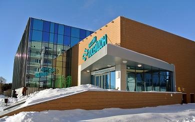 Строительство плавательного бассейна в г. Шадринске Курганской области