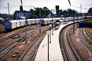 Строительство посадочных платформ и павильонов с обустройством турникетным оборудованием на станции Отрожка