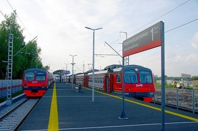 Организация движения скоростных поездов на участке Москва – Новопеределкино