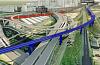 Над Москва-Сити строится железнодорожная эстакада